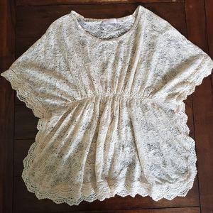 Love Notes boho lace blouse